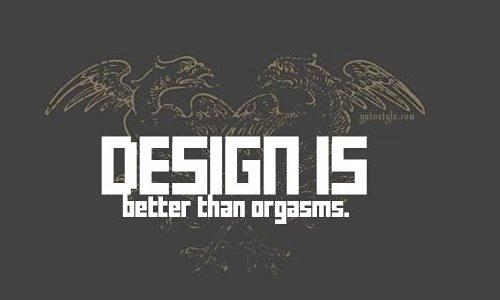 design is better than orgasms (is it ).图片