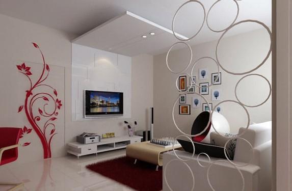 冰箱马克笔手绘效果图 客厅